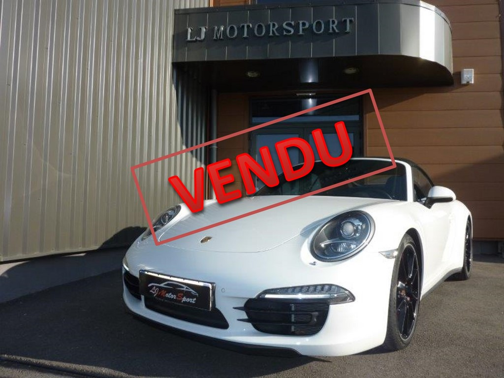 porsche 911 991 4s cab 400ch chassis 2014 31000 kms. Black Bedroom Furniture Sets. Home Design Ideas