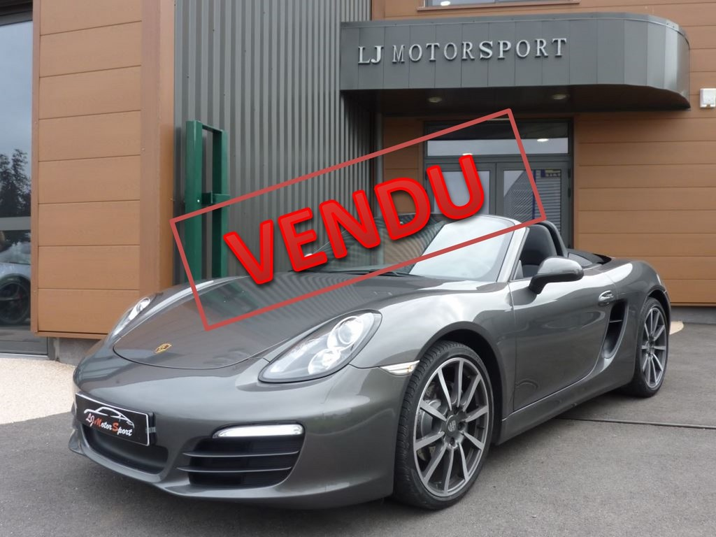 porsche boxster 981 2 7l 265ch chassis 2013 16100 kms. Black Bedroom Furniture Sets. Home Design Ideas