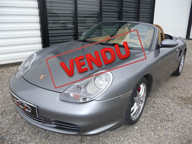 porsche boxster s 986 phase 2 260ch 11 2002 53900kms. Black Bedroom Furniture Sets. Home Design Ideas