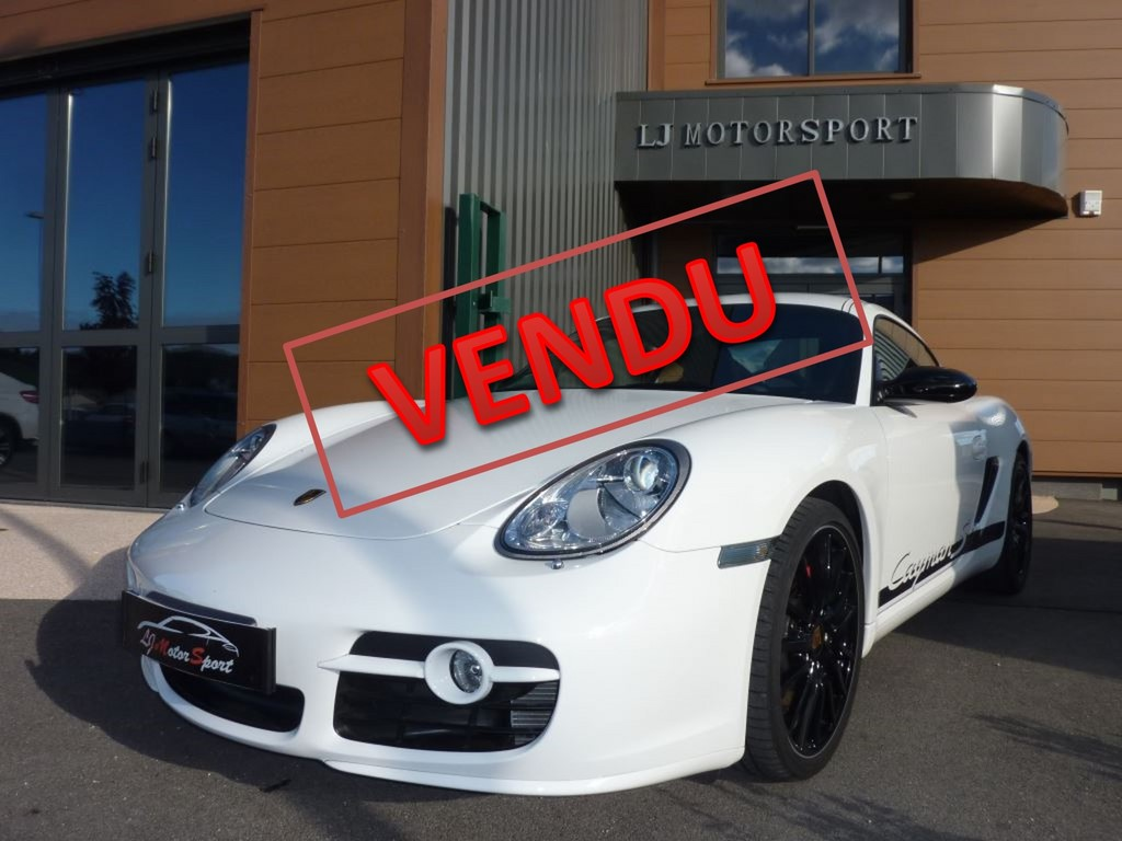 porsche cayman s sport limited edition 303ch 03 2009 16600 kms. Black Bedroom Furniture Sets. Home Design Ideas