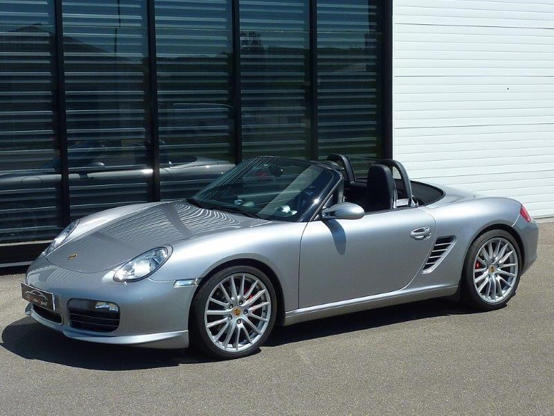 porsche boxster rs 60 spyder 303ch s rie limitee n 1415 1960 07 2008 45500 kms. Black Bedroom Furniture Sets. Home Design Ideas