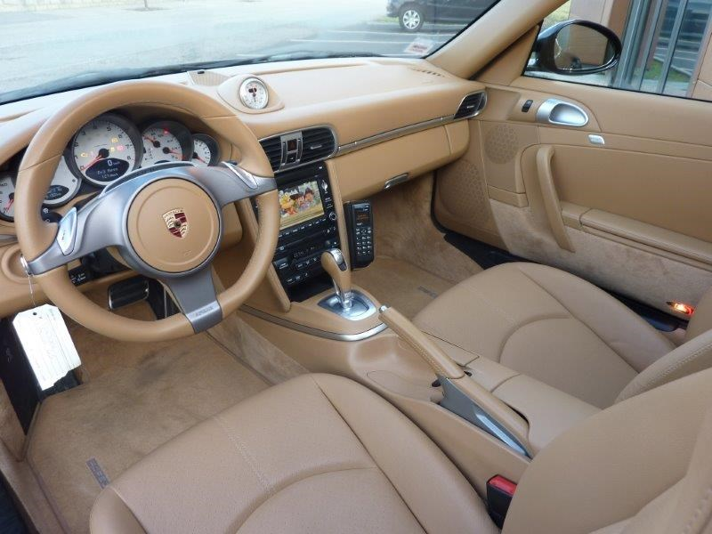 Porsche 911 997 targa 4s 385ch 09 2009 52200 kms 69997 for Interieur 997