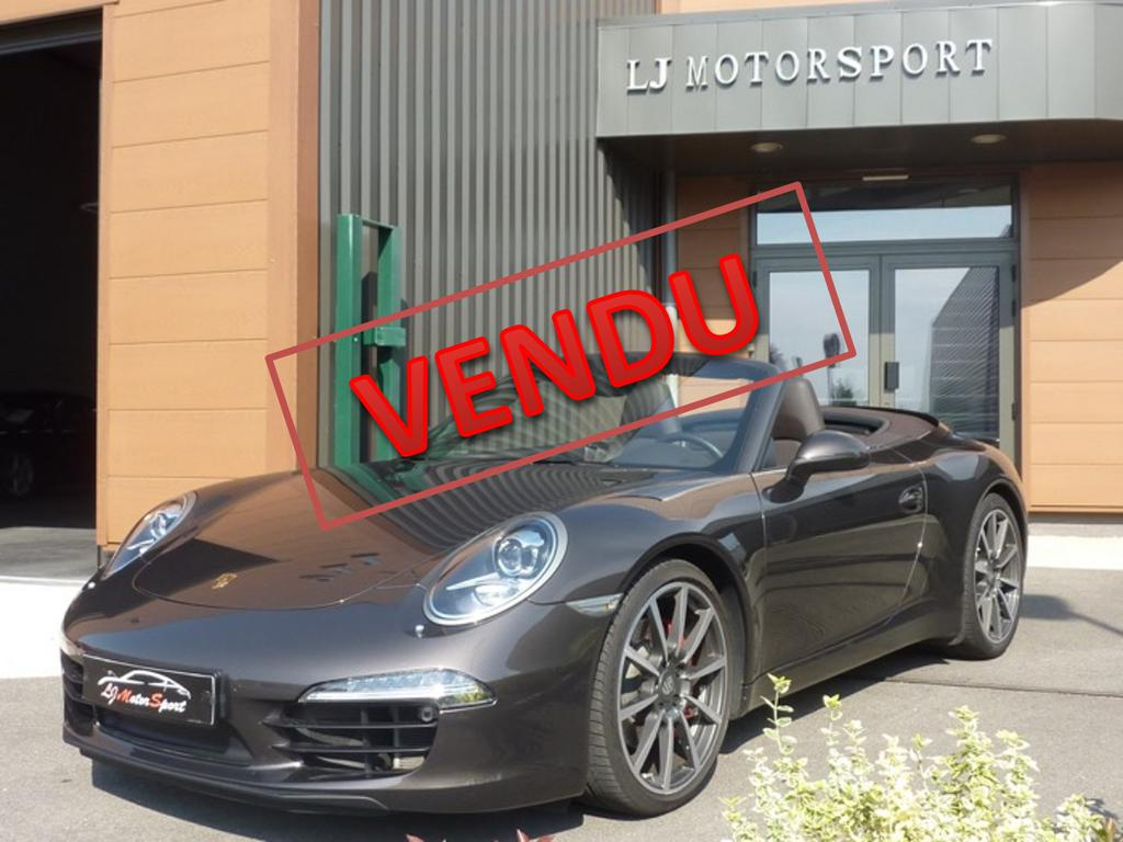 porsche 911 991 s cabriolet pdk 400ch chassis 2013 39821 kms. Black Bedroom Furniture Sets. Home Design Ideas