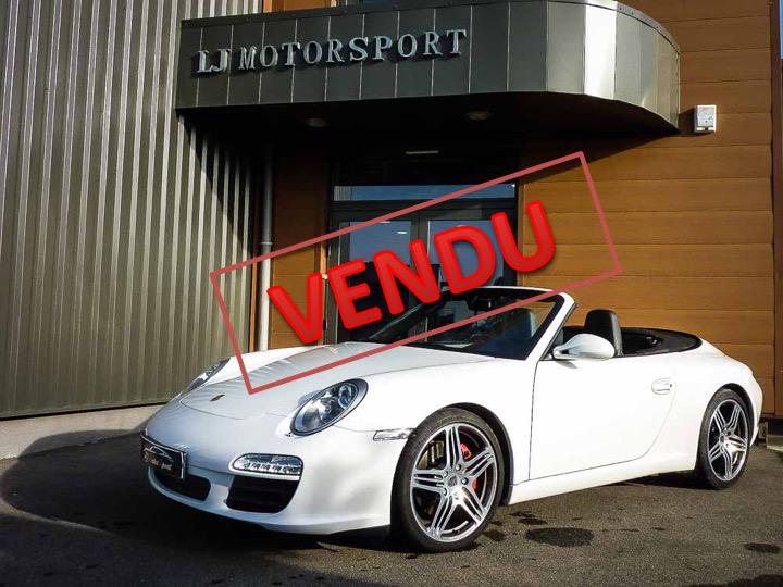 porsche 911 997 s cabriolet phase ii 385ch chassis 2009 72200 kms. Black Bedroom Furniture Sets. Home Design Ideas