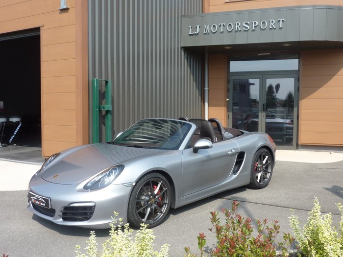porsche boxster s 981 3 4l 315ch chassis 2013 18900 kms 63981. Black Bedroom Furniture Sets. Home Design Ideas