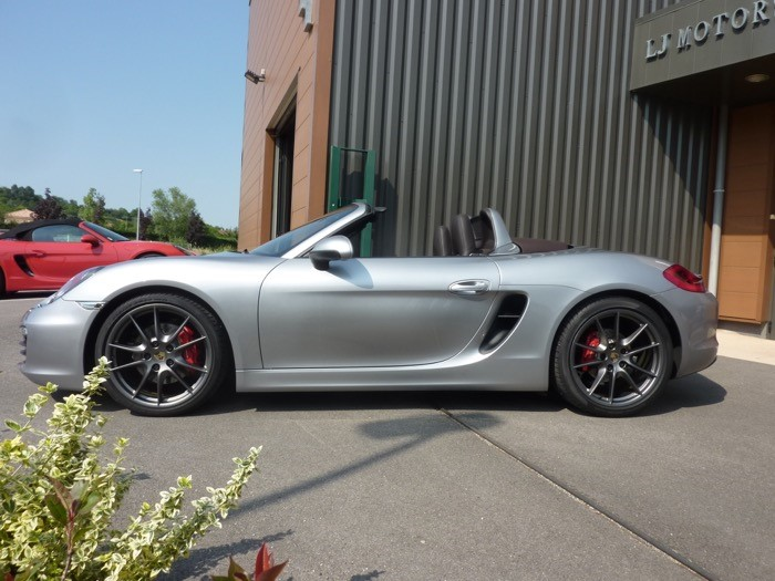 porsche boxster s 981 3 4l 315ch chassis 2013 18900 kms. Black Bedroom Furniture Sets. Home Design Ideas